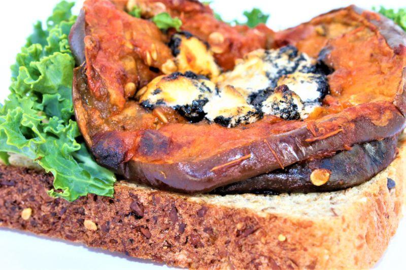 Recetas GranOcampo berengena con queso ecabra